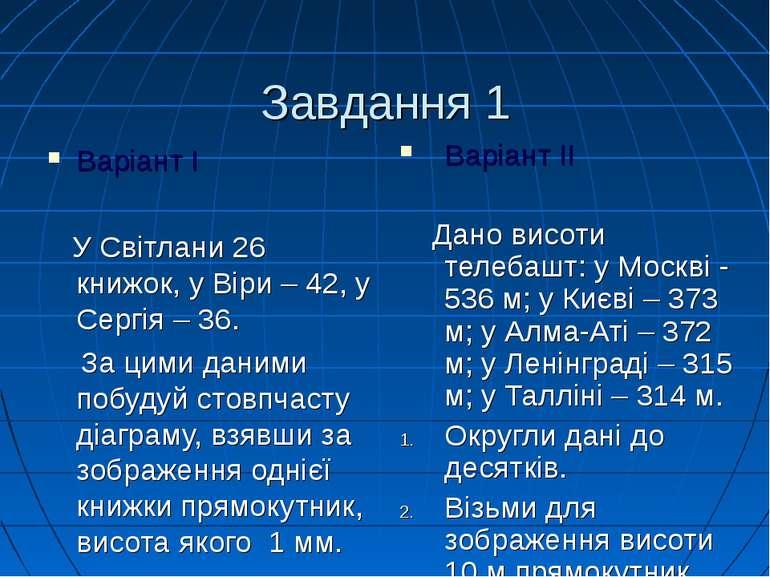 Завдання 1 Варіант I У Світлани 26 книжок, у Віри – 42, у Сергія – 36. За цим...