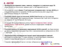 4. АКСМ Проведено дослідження знань, навичок, поведінки та ставлення щодо ТБ ...