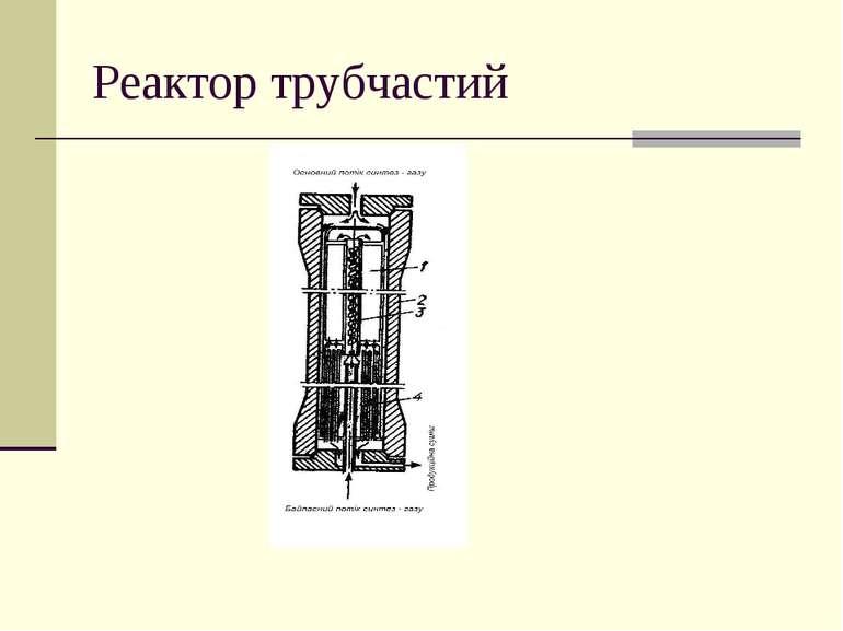 Реактор трубчастий