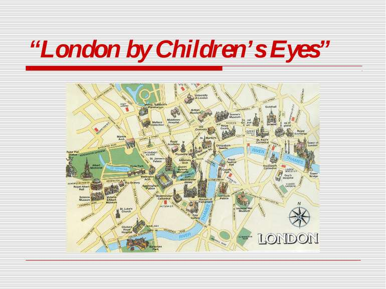 """London by Children's Eyes"""