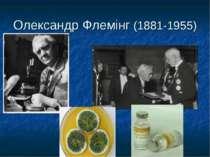 Олександр Флемінг (1881-1955)
