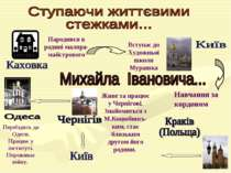 Народився в родині маляра-майстрового Вступає до Художньої школи Мурашка Навч...