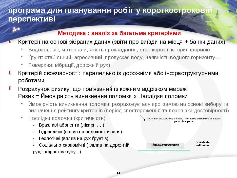 програма для планування робіт у короткостроковій перспективі Методика: аналі...