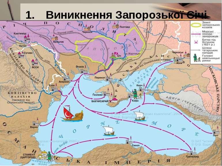 Виникнення Запорозької Січі