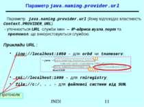 Параметр java.naming.provider.url Параметр java.naming.provider.url (йому від...