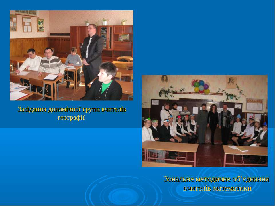 Зональне методичне об'єднання вчителів математики Засідання динамічної групи ...