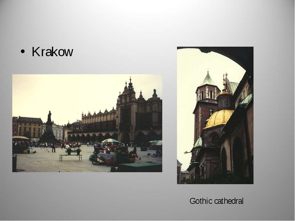 Krakow Gothic cathedral