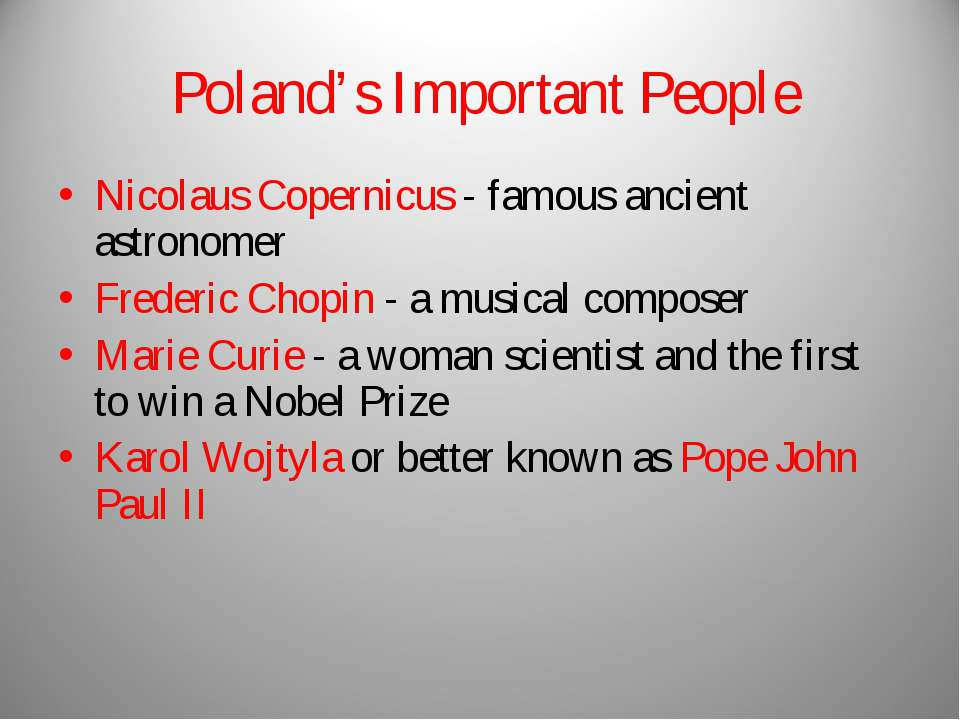 Poland's Important People Nicolaus Copernicus - famous ancient astronomer Fre...