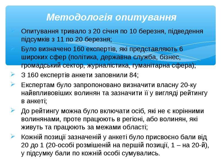 Опитування тривало з 20 січня по 10 березня, підведення підсумків з 11 по 20 ...