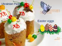 Easter eggs Ukrainian Paskas