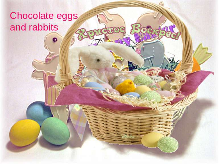 Chocolate eggs and rabbits