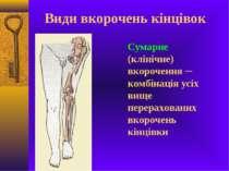 Сумарне (клінічне) вкорочення ─ комбінація усіх вище перерахованих вкорочень ...