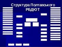 Структура Полтавського РБДЮТ