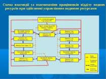 Схема взаємодії та взаємозаміни працівників відділу водних ресурсів при здійс...