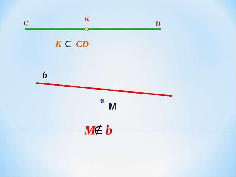 C D K K CD М b M b