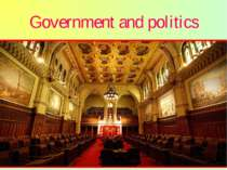 Government and politics Canada has strong democratic traditions. The sovereig...