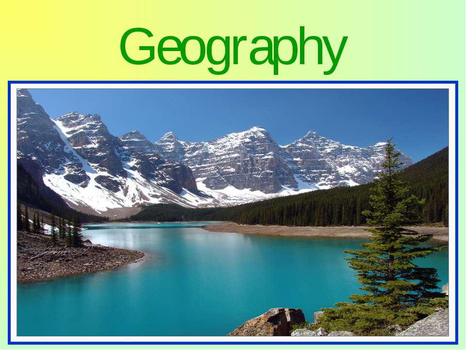 Geography Canada occupies a major northern portion of North America. By total...