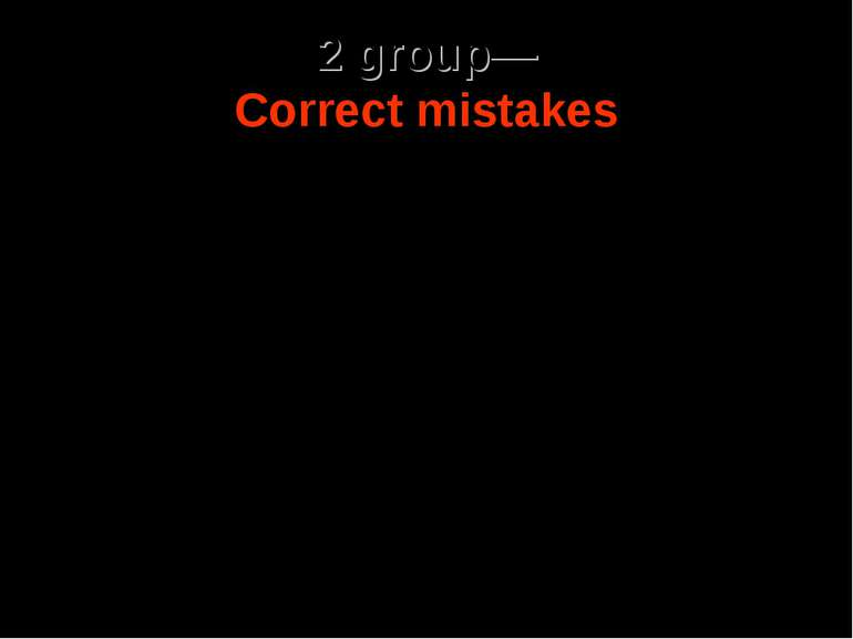 2 group— Correct mistakes After 47 historic finals each one with dramatic def...