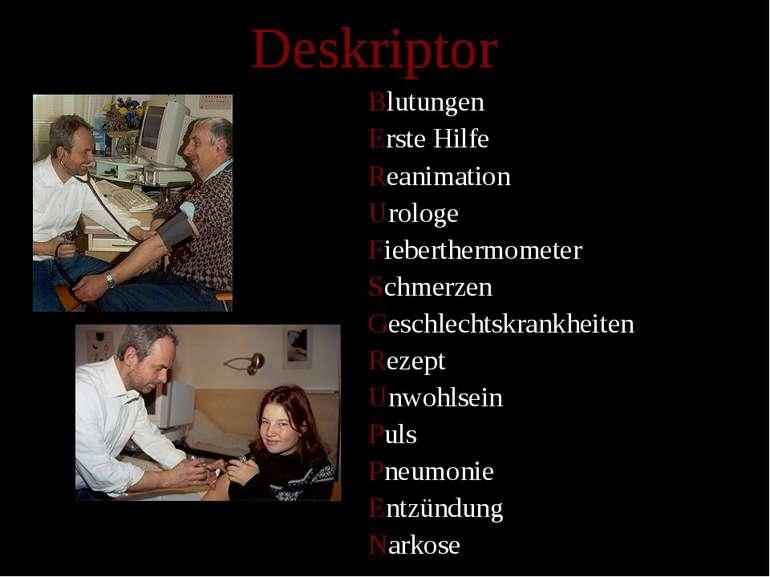 Deskriptor Blutungen Erste Hilfe Reanimation Urologe Fieberthermometer Schmer...