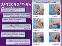 ВАЛЕОЛОГІЧНА ПАУЗА антисептична обробка рук – стандартна методика, якою корис...