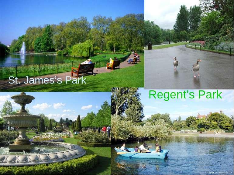 St. James's Park Regent's Park