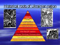 Historical roots of Ukrainian nation