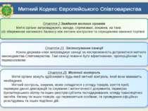Митний Кодекс Європейського Співтовариства