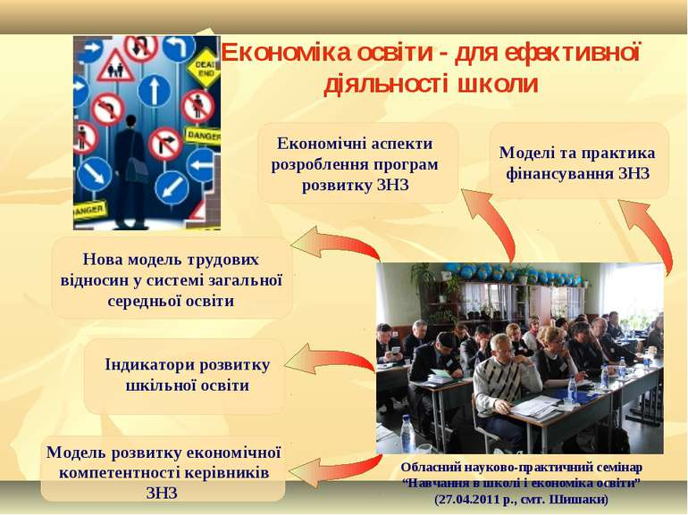 Економіка освіти - для ефективної діяльності школи Обласний науково-практични...