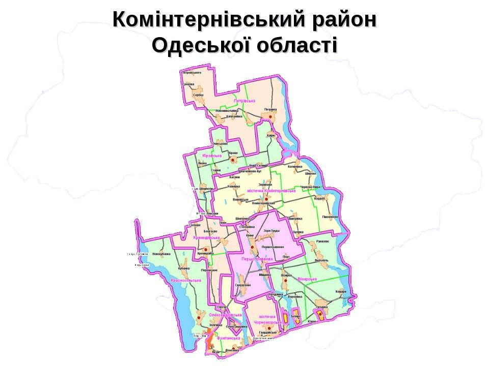 Комінтернівський район Одеської області