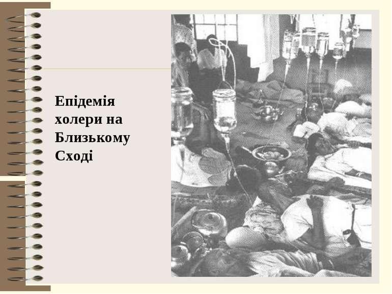 Епідемія холери на Близькому Сході