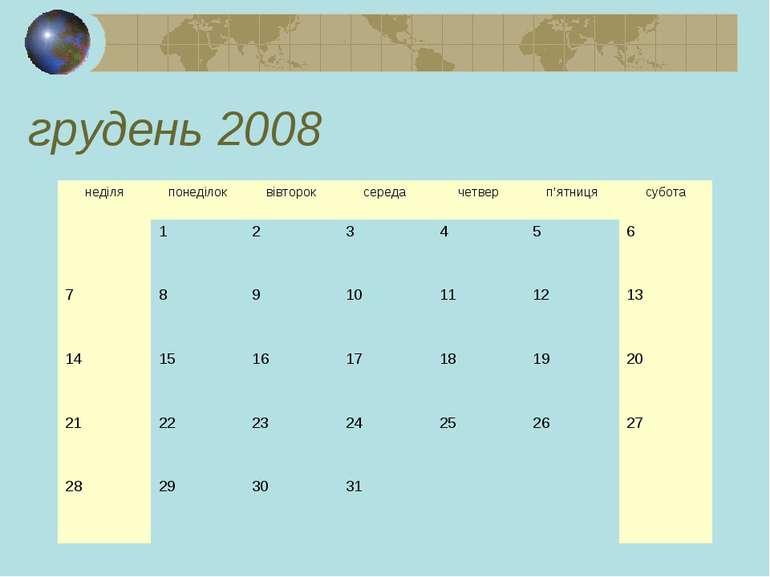грудень 2008