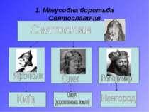 1. Міжусобна боротьба Святославичів