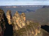Рельєф материка поділяється на 3 області: Великий Вододільний хребет . г Косц...