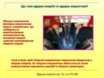 Що таке ядерна енергія та ядерна енергетика? Хоча в будь-якій області енергет...