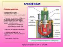 По типу реакторів Атомні електростанції класифікуються згідно з встановленими...