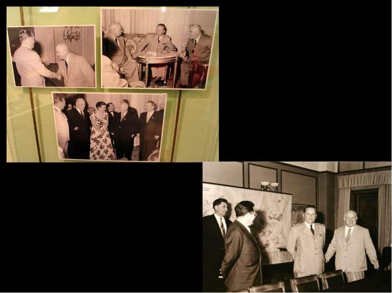 1955 р. Белград 1956 р. Москва Після смерті Сталіна відбулась нормалізація ра...