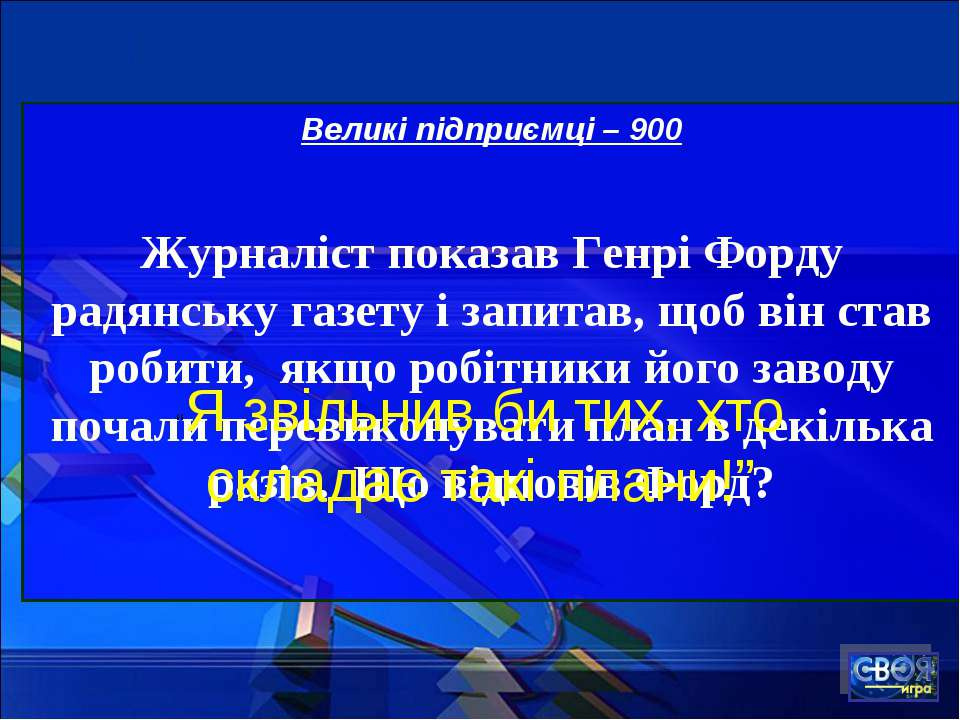 Великі підприємці – 900 Журналіст показав Генрі Форду радянську газету і запи...