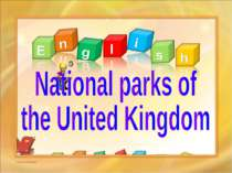 National parks of the United Kingdom