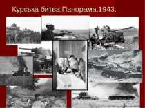 Курська битва.Панорама.1943.