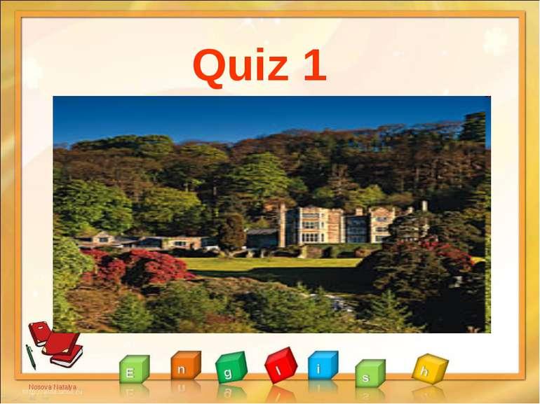 Quiz 1 Nosova Natalya