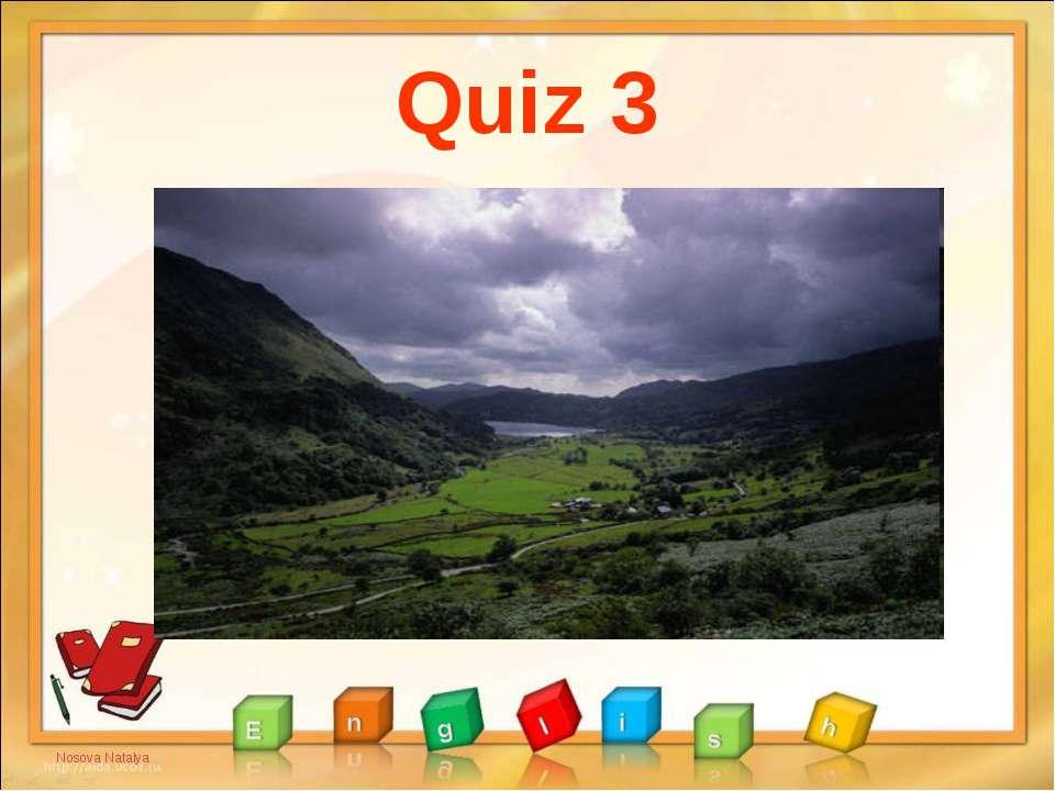 Quiz 3 Nosova Natalya