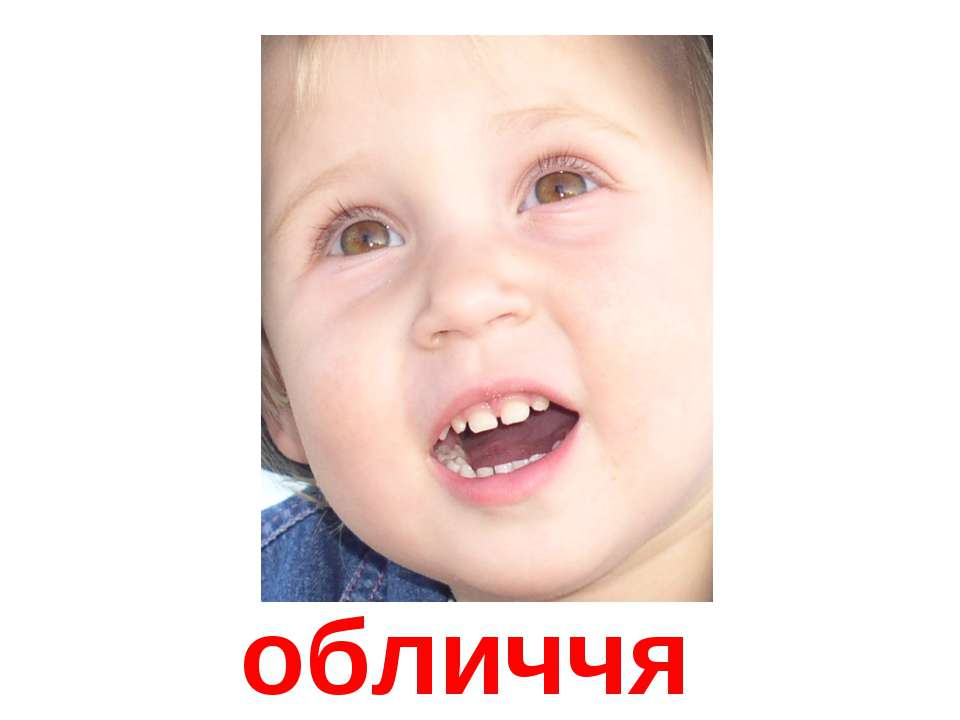 обличчя