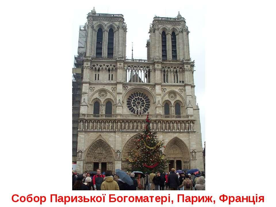Собор Паризької Богоматері, Париж, Франція
