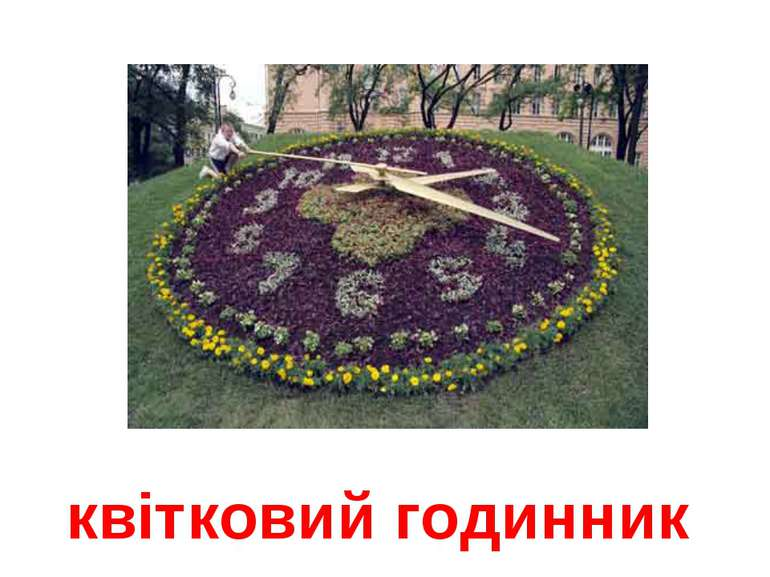 квітковий годинник