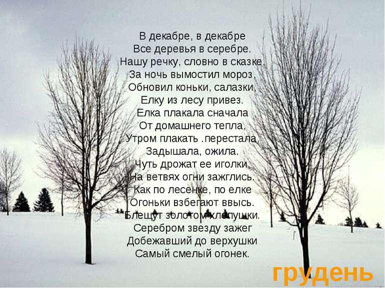 Стих я такое дерево автор