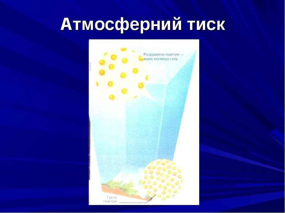 Атмосферний тиск