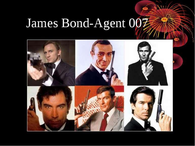 James Bond-Agent 007