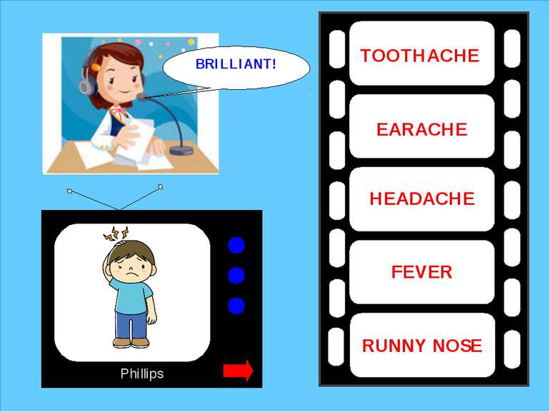 Phillips TOOTHACHE EARACHE HEADACHE FEVER RUNNY NOSE BRILLIANT!