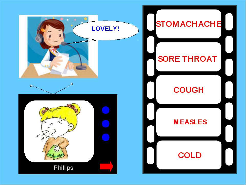 Phillips COUGH MEASLES COLD SORE THROAT STOMACHACHE LOVELY!