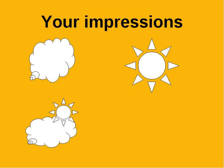 Your impressions